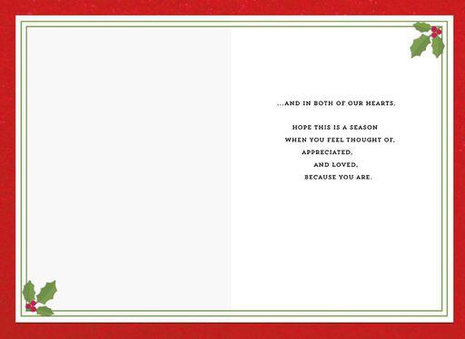 Holly Holiday Dad Christmas Card,