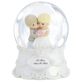 Precious Moments® To Have and To Hold Musical Water Globe, , large
