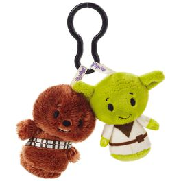 Star Wars™ Chewbacca™ and Yoda™ itty bittys® Clippys Stuffed Animals, , large