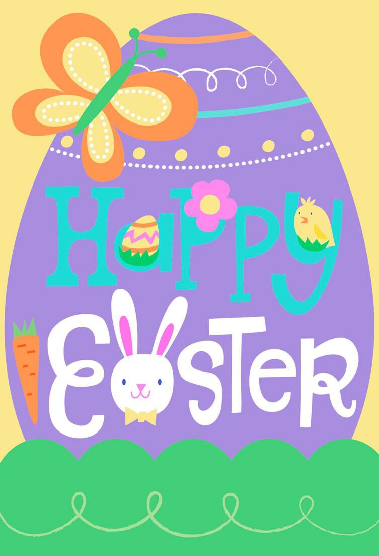 Hop to it Kids Easter Cards Pack of 6 Boxed Cards Hallmark – Hallmark Easter Cards