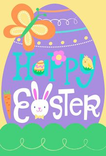 Hop to it! Kids Easter Cards, Pack of 6,