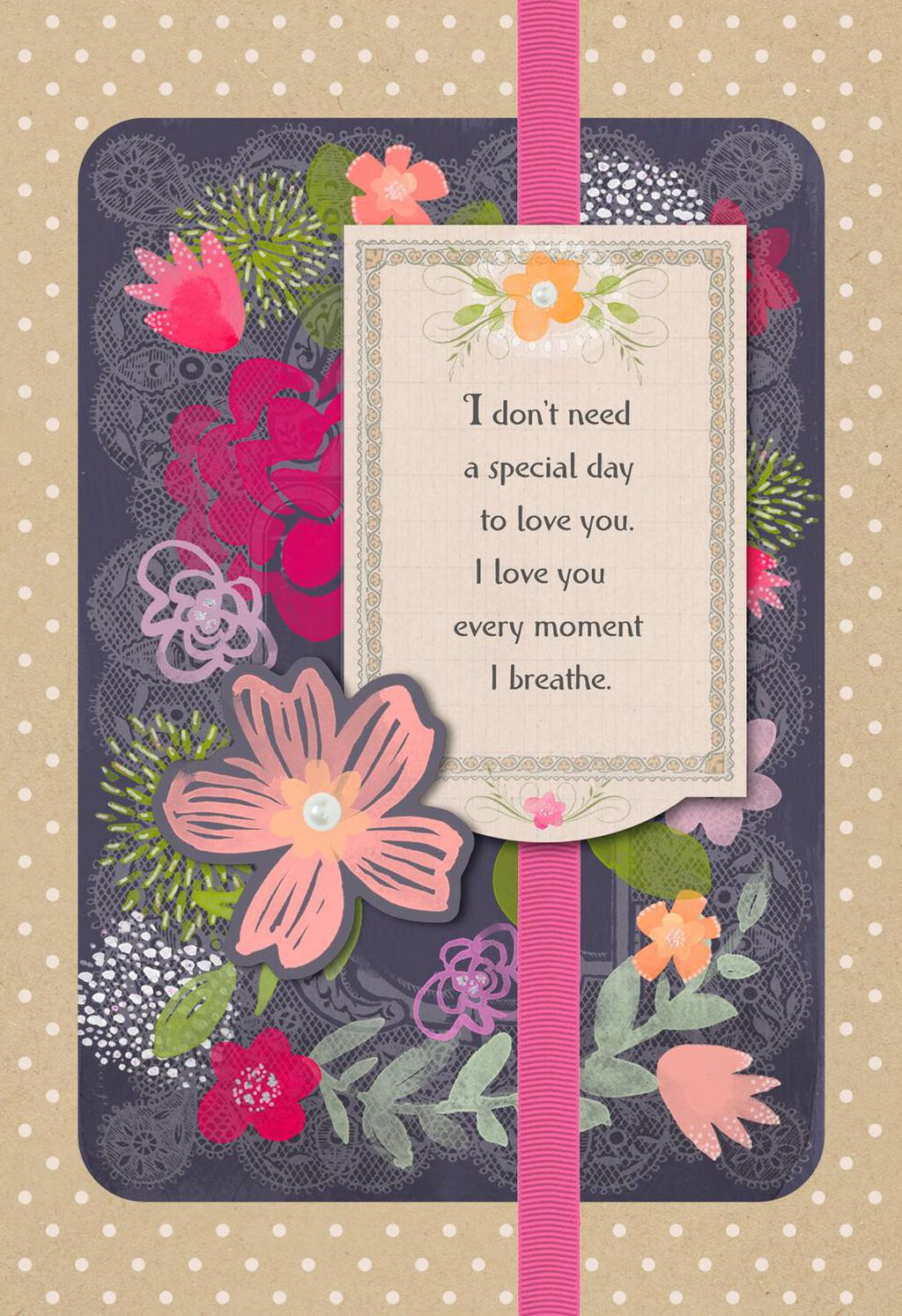 You Make My Heart Complete Romantic Birthday Card