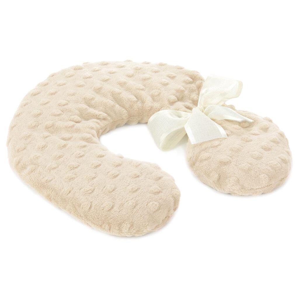 Sonoma Lavender Oatmeal Colored Neck Pillow Bath Accessories