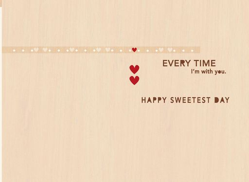 Happy Heart Romantic Sweetest Day Card,