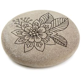 Flower DIY Coloring Rock, , large