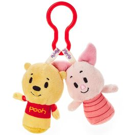 Disney Winnie the Pooh and Piglet itty bittys® Clippys Stuffed Animals, , large