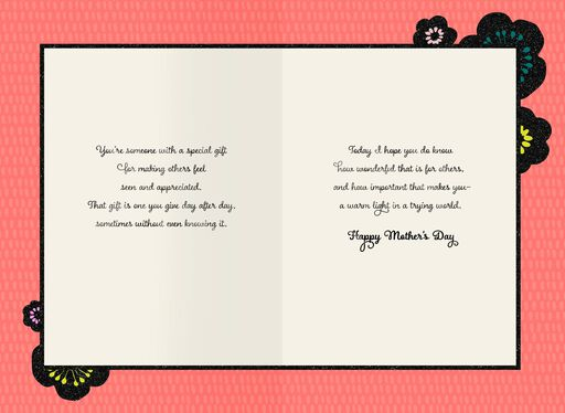 You Have a Special Gift Mother's Day Card,