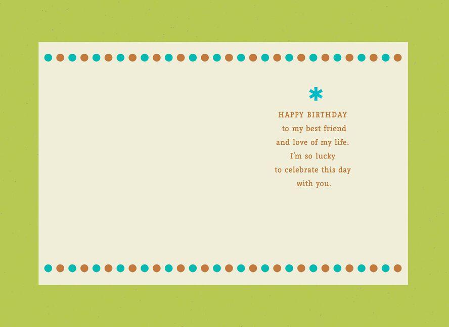 Happy Birthday To My Best Friend Card Choice Image Free Birthday
