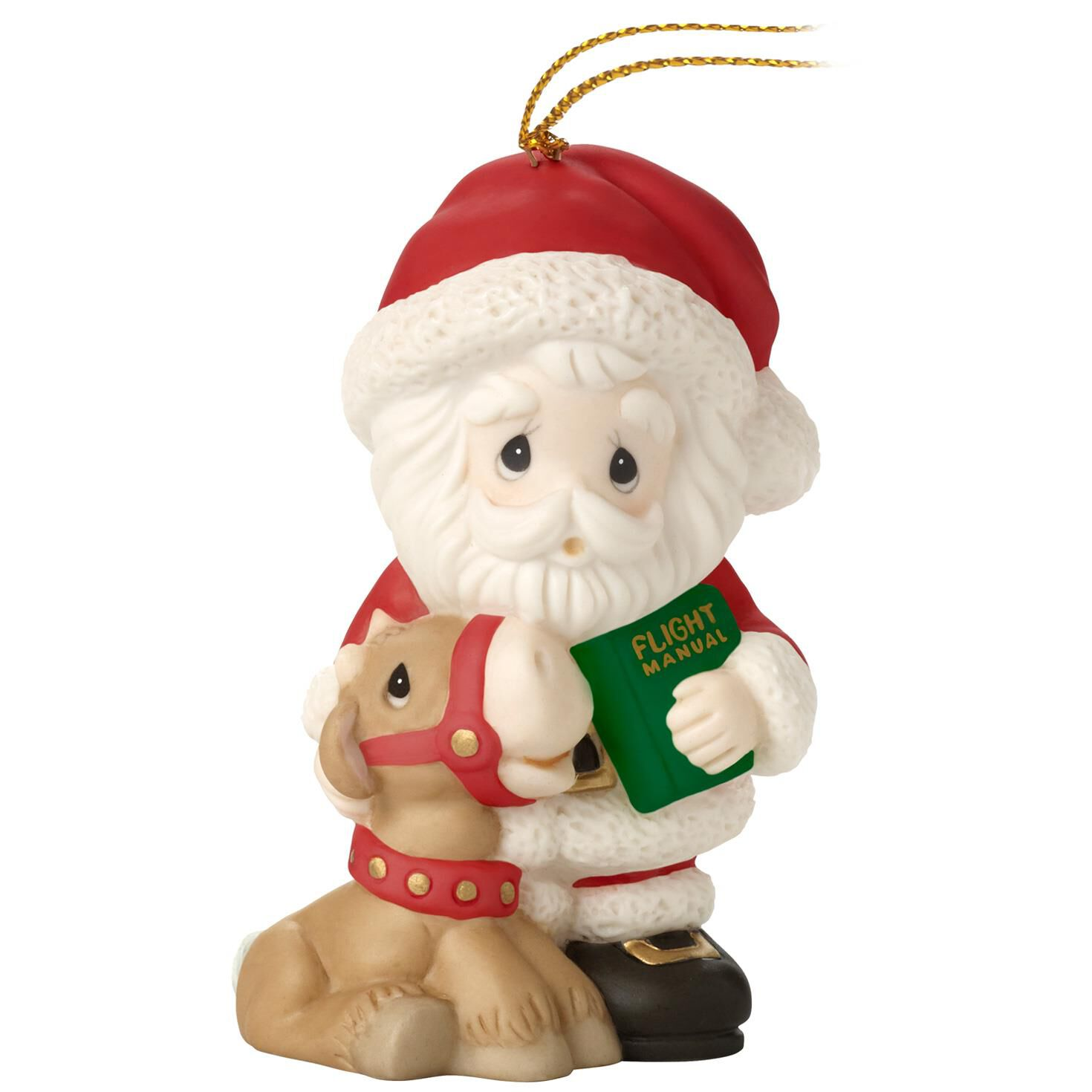 Precious Moments® All Things Are Possible Santa Ornament, 9th in ...