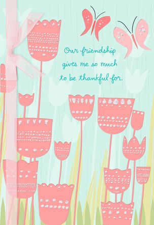 I'm Lucky in Every Way Friendship Card