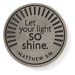 Matthew 5:16 Collectible Token, , large