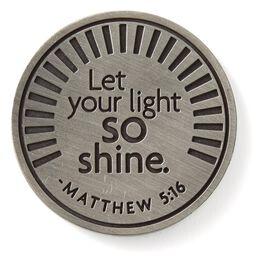 Matthew 5:16 Collectible Token, , large