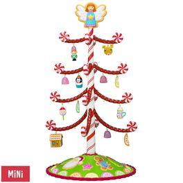 Season's Treatings Mini Tree With 12 Ornaments, , large