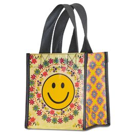 Natural Life Smiley Face Gift Bag, Small, , large