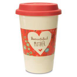 Beautiful Mother Double-Walled Travel Mug, , large