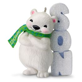 Polar Bear Son Ornament, , large