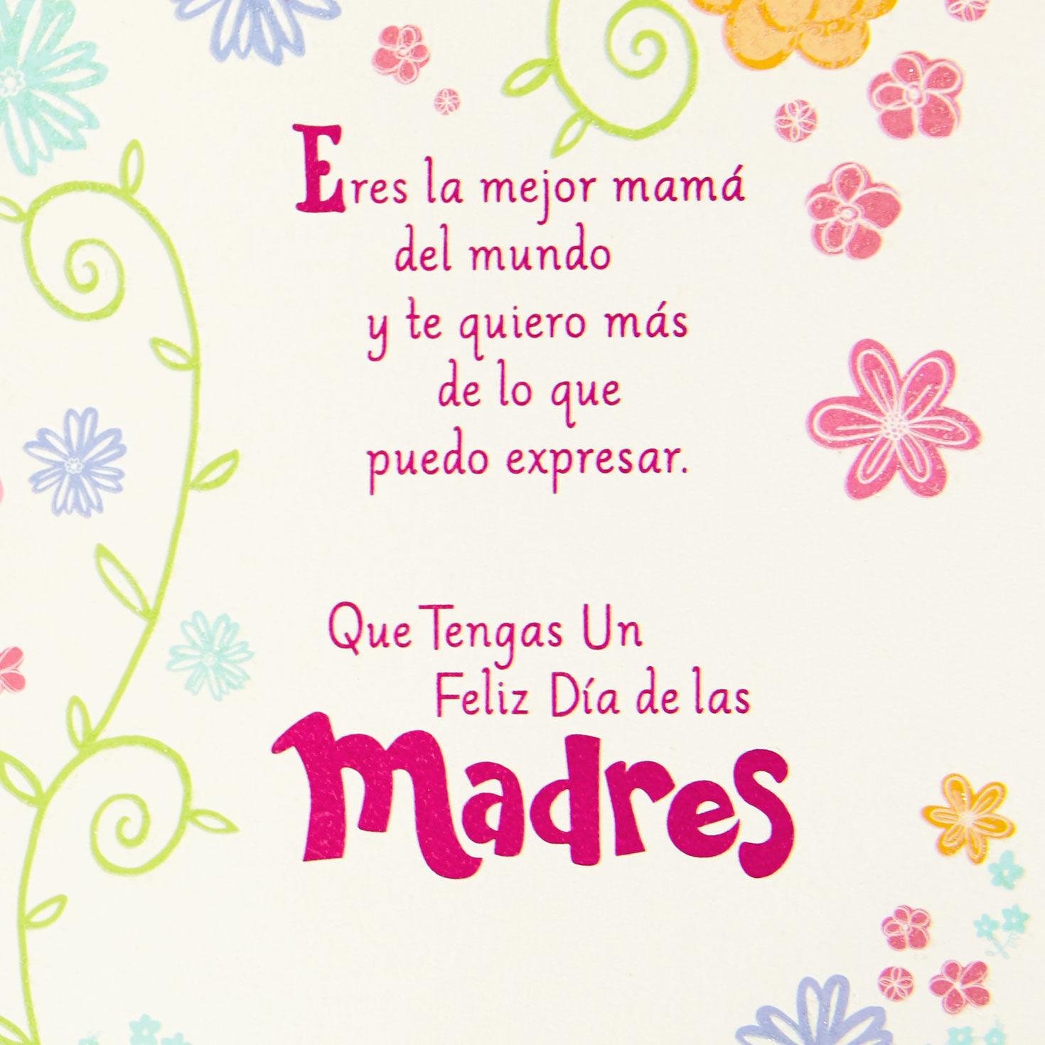 How you say next week in spanish mothers day