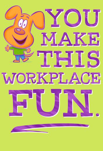 Administrative professionals day cards secretaries day cards you make work fun admin professionals day card m4hsunfo