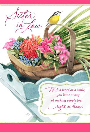 Marjolein Bastin You're a Special Blessing Mother's Day Card for Sister-in-Law