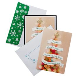 Truly Blessed Christmas Cards, Box of 16, , large