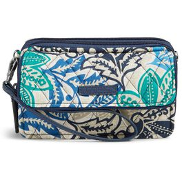 Vera Bradley RFID All-in-One Crossbody in Santiago, , large