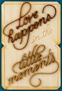 Little Moments Love Card,
