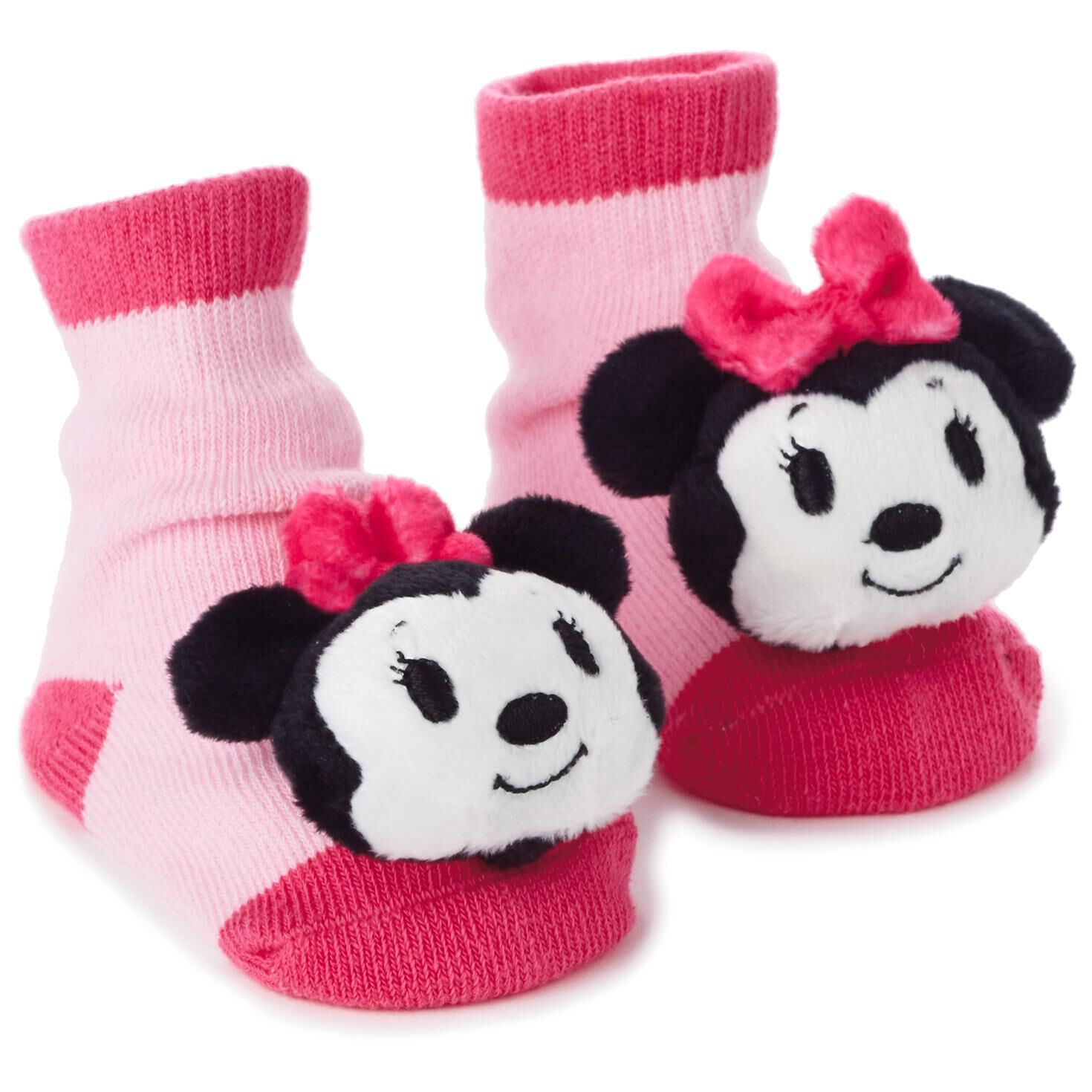 Minnie Mouse itty bittys Baby Rattle Socks Baby Clothes Hallmark