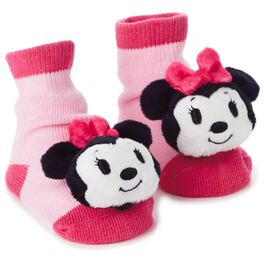 Minnie Mouse itty bittys® Baby Rattle Socks, , large