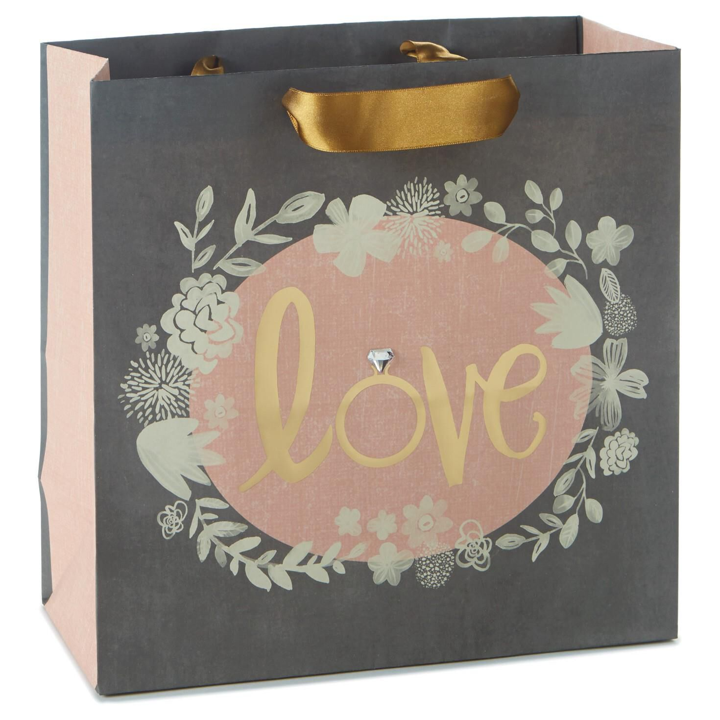 Wedding Gift Ideas Hallmark : Love Large Square Gift BagGift BagsHallmark