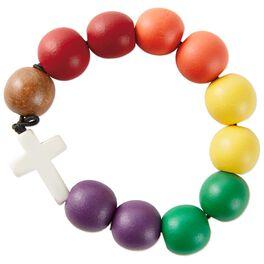 Wooden Rosary Bracelet, , large
