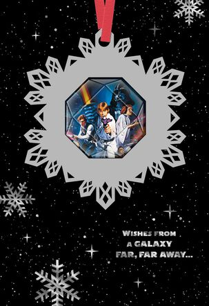 Star Wars™ Season's Greetings Christmas Card With Ornament