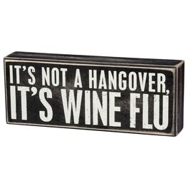 Primitives by Kathy Wine Flu Box Sign, , large