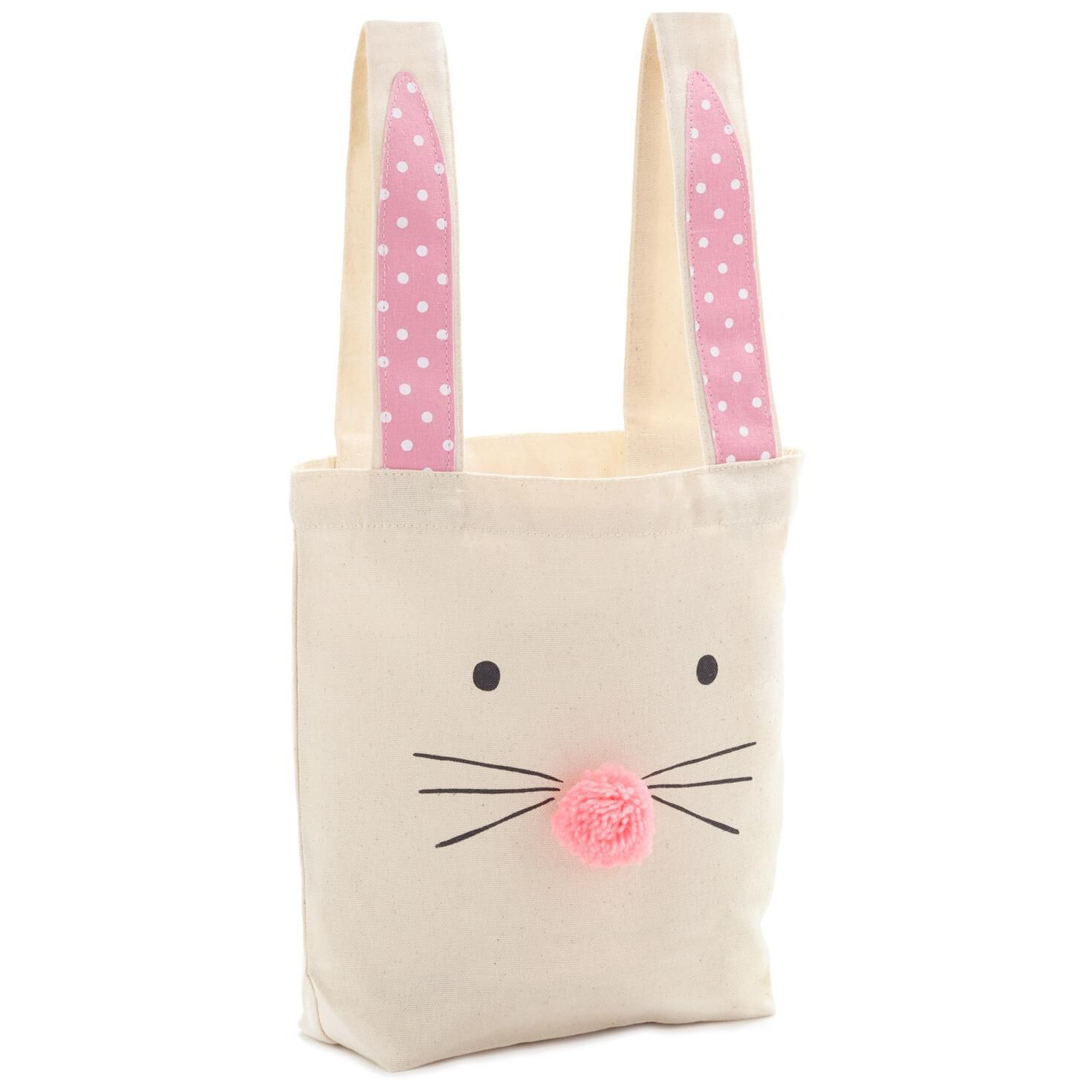 Bunny face with ears canvas gift bag 105 gift bags hallmark negle Images