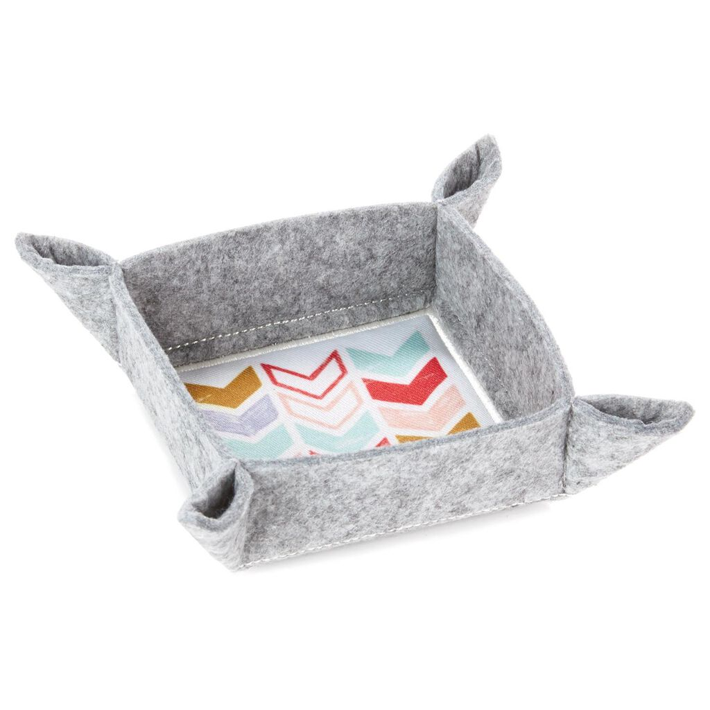 Chevron Catch All Tray