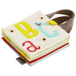 ABC Fabric Soft Book With Handles, , large