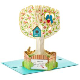 For the Love Birds Pop Up Anniversary Card, , large