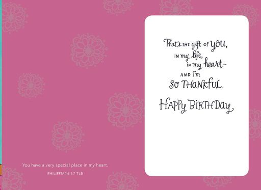 At Home in My Heart Birthday Card,