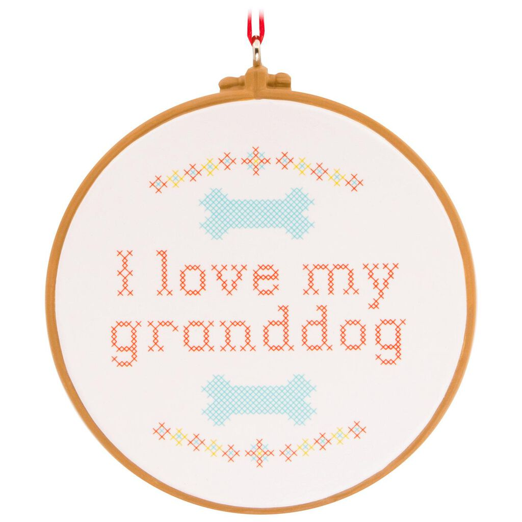 Love My Granddog Hallmark Ornament Gift Ornaments Hallmark