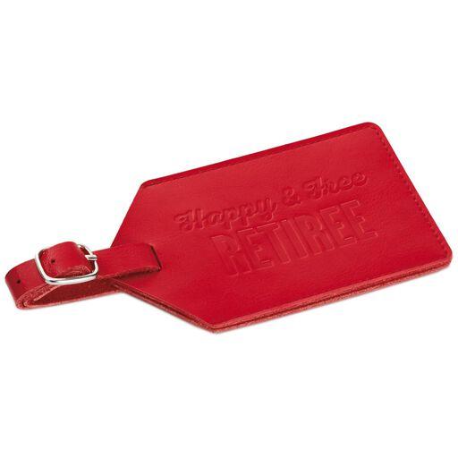 dd1ba6edef19 Going Places Leather Luggage Tag - Travel - Hallmark
