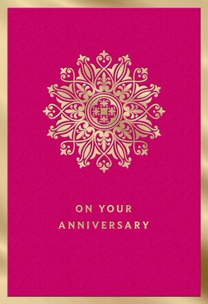 Many More Years of Happiness Anniversary Card