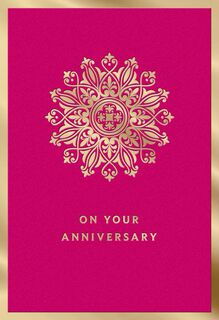 Many More Years of Happiness Anniversary Card,