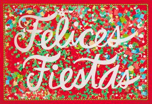 Felices Fiestas Spanish-Language Christmas Card