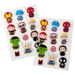 itty bittys® Avengers Puffy Stickers, Pack of 24, , large
