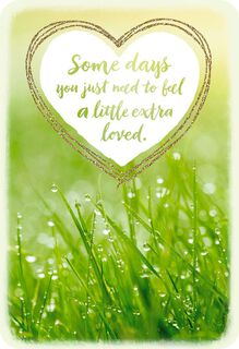 Sending You Extra Love Thinking of You Card,
