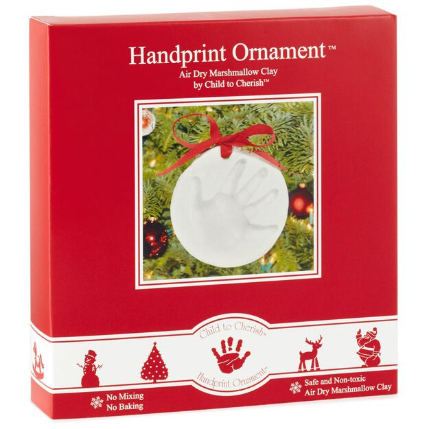 Babys First Christmas Handprint Ornament  Gift Ornaments  Hallmark