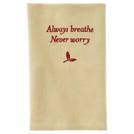 Always Breathe Tea Towel, , large