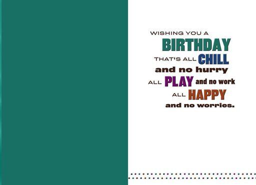 Bold Birthday Wishes Birthday Card,