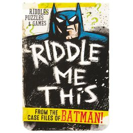 Riddle Me This From the Case Files of BATMAN™ Puzzle Book, , large