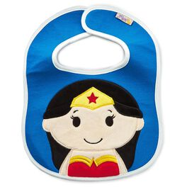 WONDER WOMAN™ itty bittys® Baby Bib, , large