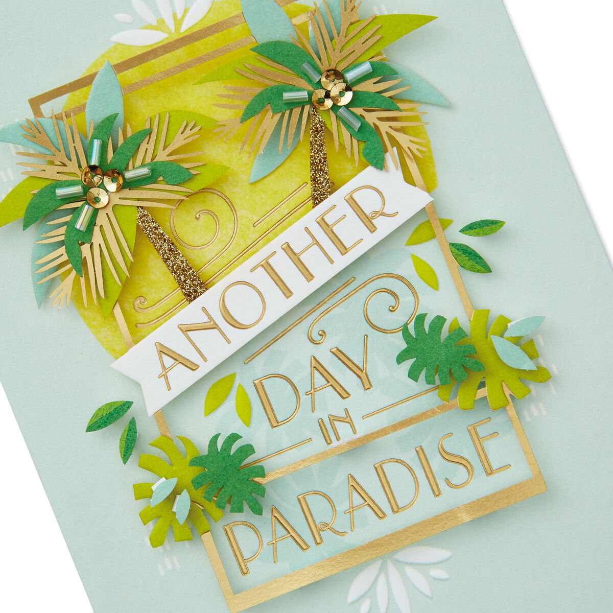 another day in paradise blank card  greeting cards  hallmark